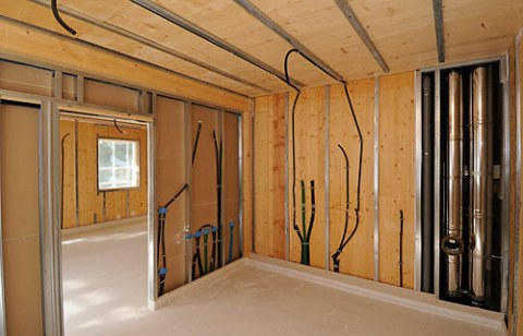 Casa in legno moderna casa in legno moderna with casa in - Case moderne in legno ...