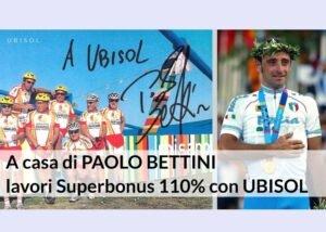 A CASA DI BETTINI: SUPERBONUS PER IL CAMPIONE OLIMPICO