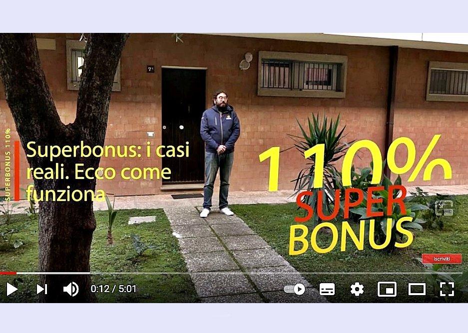 SUPERBONUS: I CASI REALI. ECCO COME FUNZIONA – video