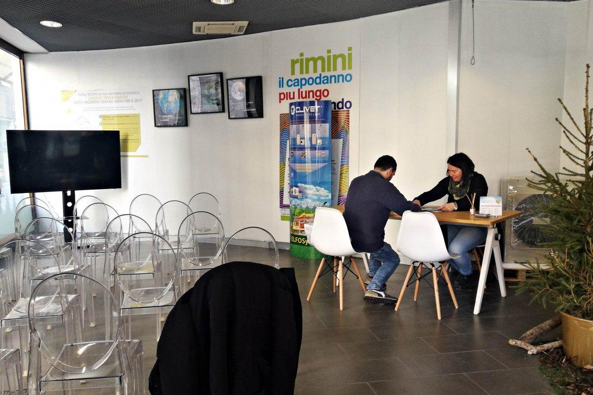 Rimini, la Bottega del Risparmio Energetico apre i battenti