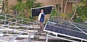 L'impianto fotovoltaico taglia i consumi del Conad