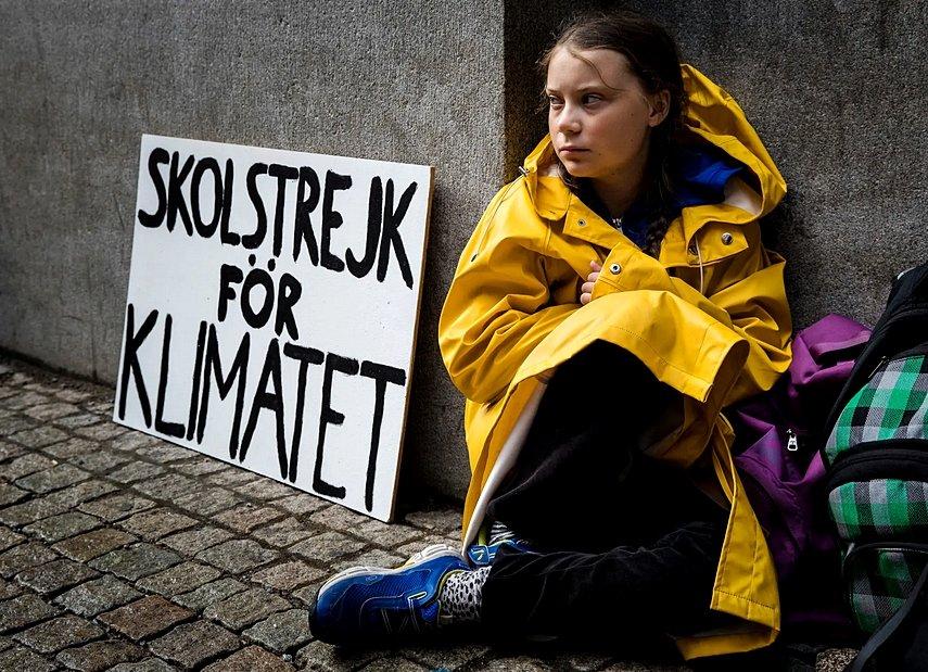 Greta è tornata a Bruxelles, sedici anni e non sentirli