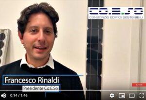 Ecobonus 110 per i Condomìni: intervista a Francesco Rinaldi