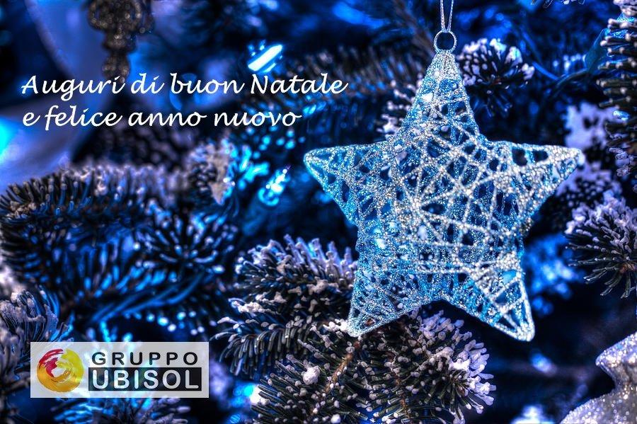 Auguri di Natale e di buon anno dal Gruppo Ubisol