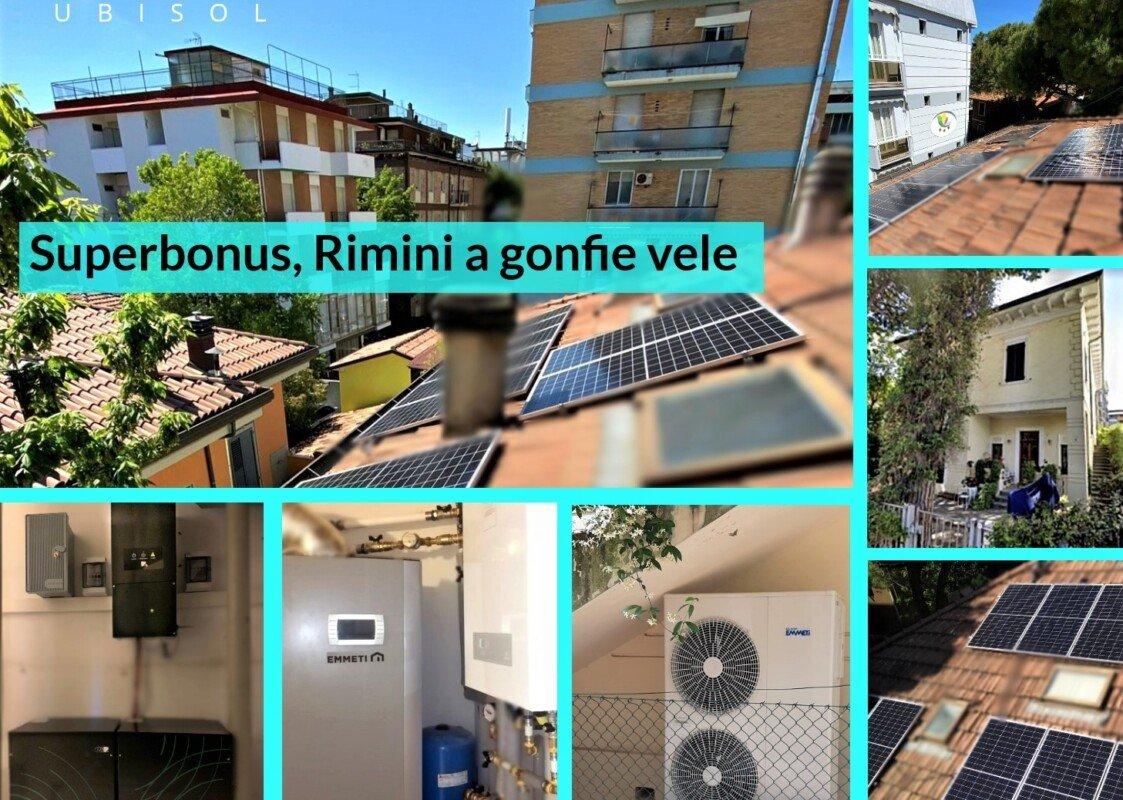 RIMINI, A GONFIE VELE COL SUPERBONUS 110%